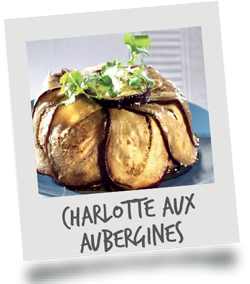 Charlotte aux Aubergines